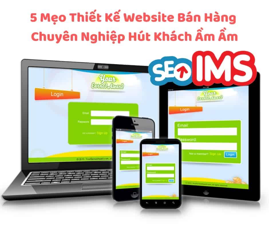 5 Mẹo Thiết Kế Website Bán Hàng Chuyên Nghiệp   Hút Khách Ầm Ầm