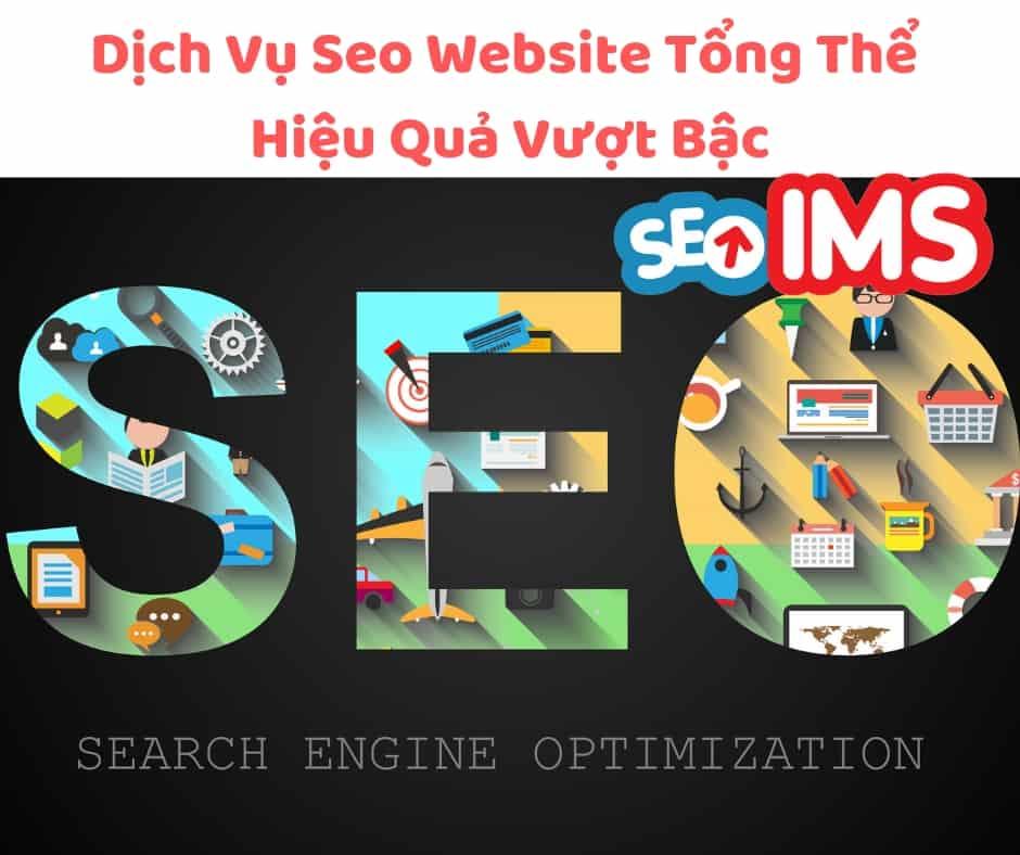 Dịch Vụ Seo Website Tổng Thể Hiệu Quả Vượt Bậc