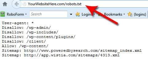 tạo file robots.txt